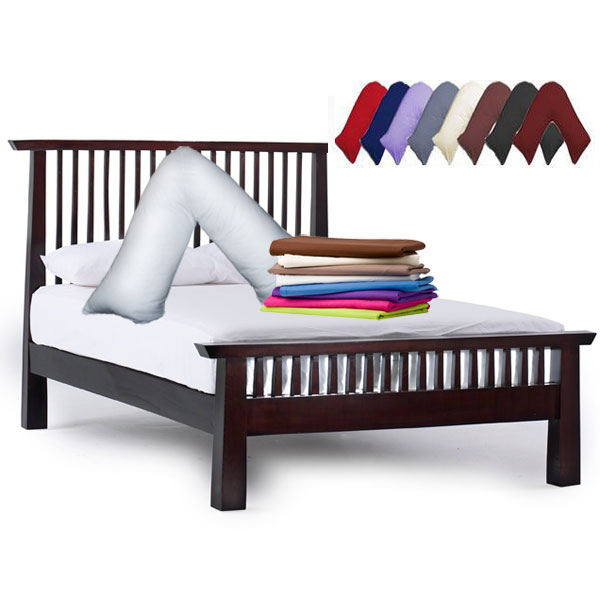 Orthopaedic V Shaped Pillow Cover Standard Quality Home Linen New Covers For V Shaped Pillows