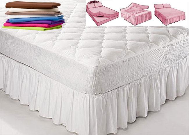 Platform Valance Sheet Standard Quality Home Linen