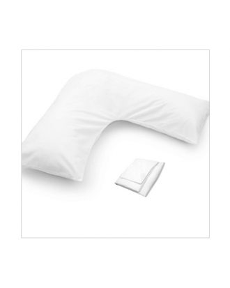 orthopaedic v-shaped pillow cover
