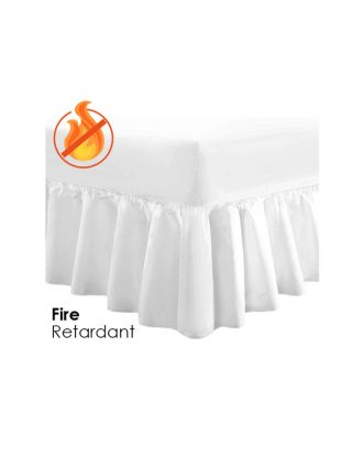Fire Retardant Fitted Valance Sheet